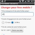 Free Mobile Calculatrice logo