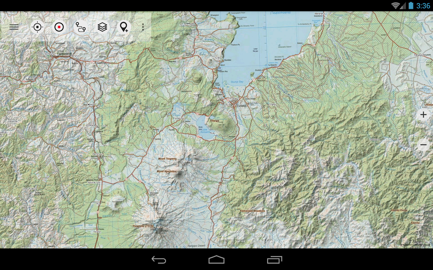 New Zealand Topo Maps Pro Android Apps On Google Play - Us elevation map google