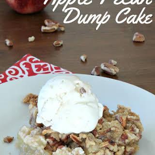 Apple Pecan Dump Cake.