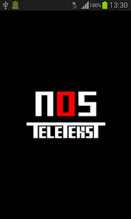 NOS Teletekst - screenshot thumbnail