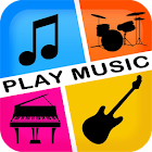 PlayMusic Piano Guitar & Drums icon