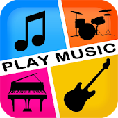 PlayMusic Piano Guitar & Drums