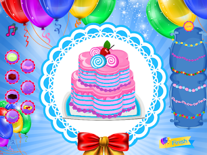 Party Cake Decoration- screenshot thumbnail