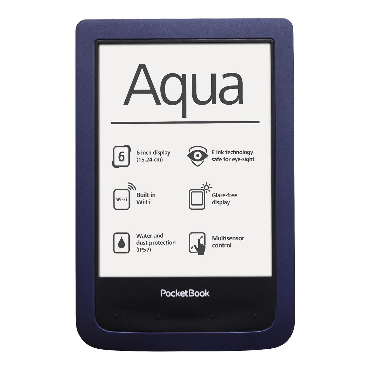 Os presentamos el PocketBook Aqua, el nuevo lector de libros electrónicos de la tecnológica suiza que destaca entre otras cosas por su resistencia y durabilidad.