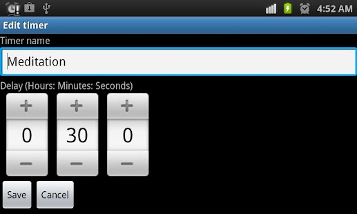 Multi Kitchen Timer (Lite) - screenshot thumbnail
