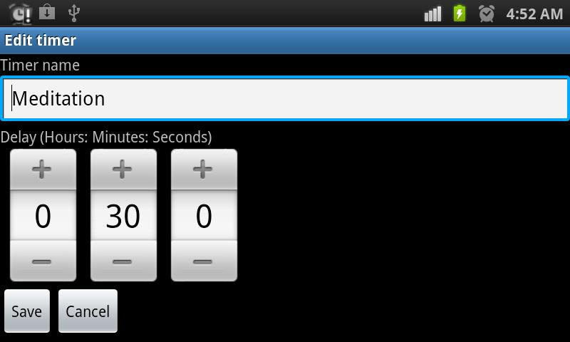 Multi Kitchen Timer (Lite) - screenshot