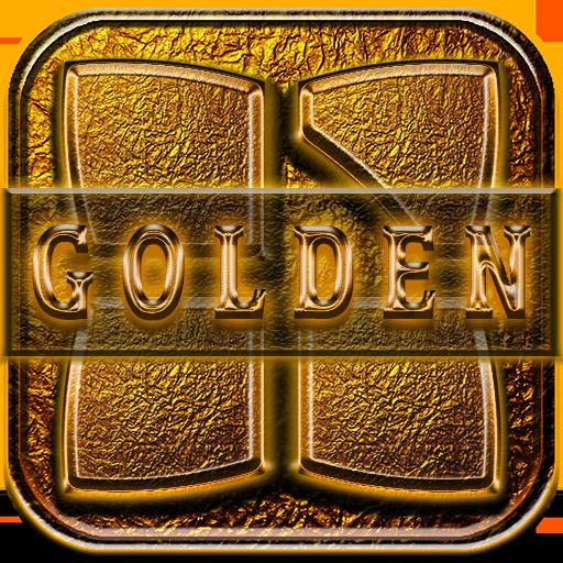 Next Launcher 3D Theme Golden