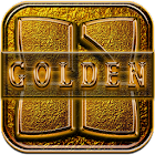 Next Launcher 3D Theme Golden icon
