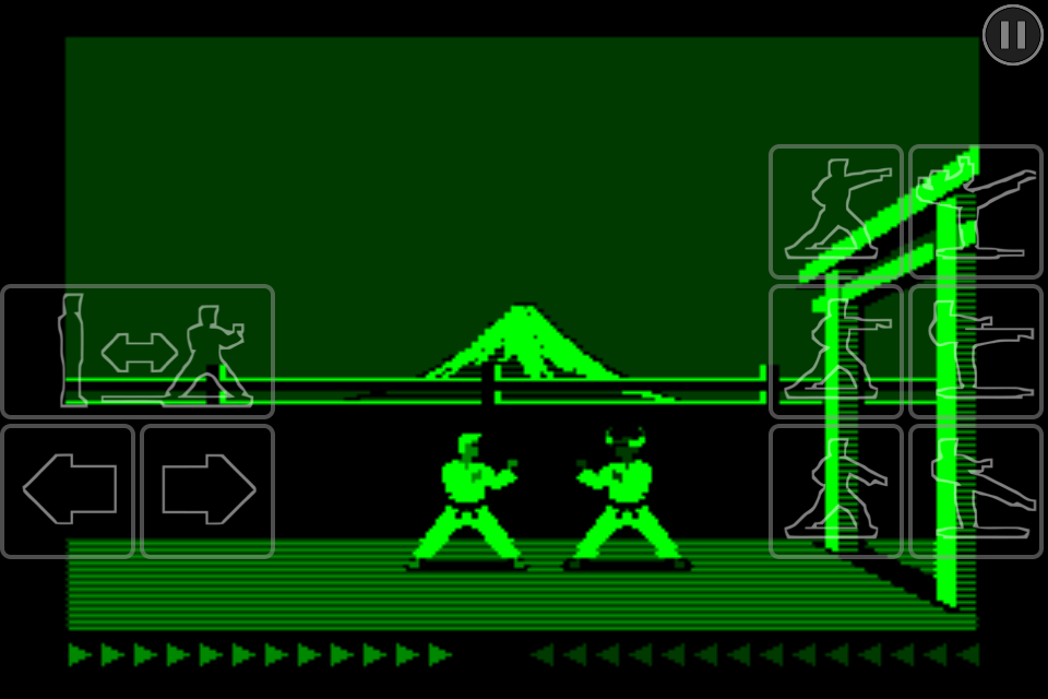 Karateka Classic - screenshot