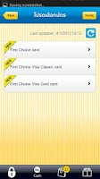 Screenshot of First Choice Mobile