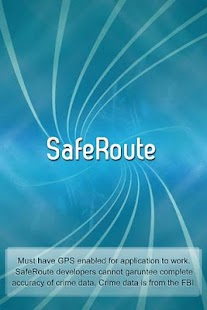 SafeRoute - screenshot thumbnail