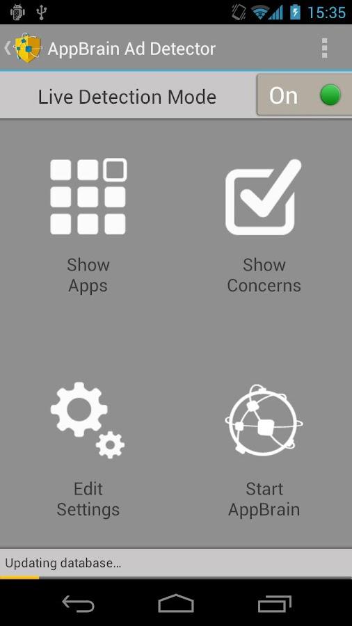 AppBrain Ad Detector: captura de pantalla