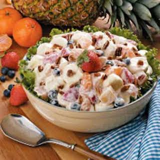 Favorite Marshmallow Fruit Salad.