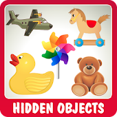 Funny Toys Hidden Objects