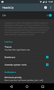 HeadsUp v3.1