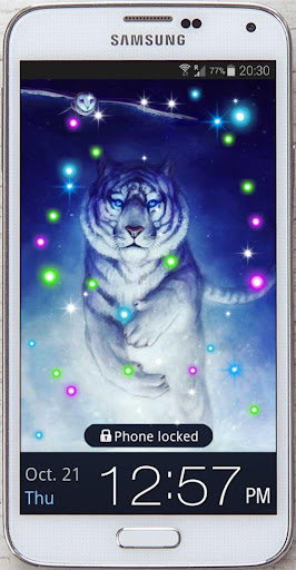Tiger White Tale LWP