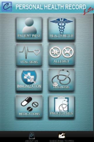 Personal Health Record - Lite