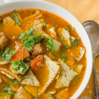 Fast & Easy Turkey Tortilla Soup.