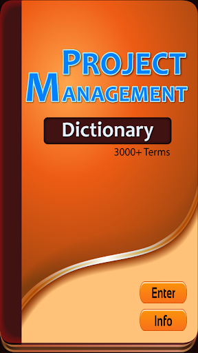 Project Manager Dictionary
