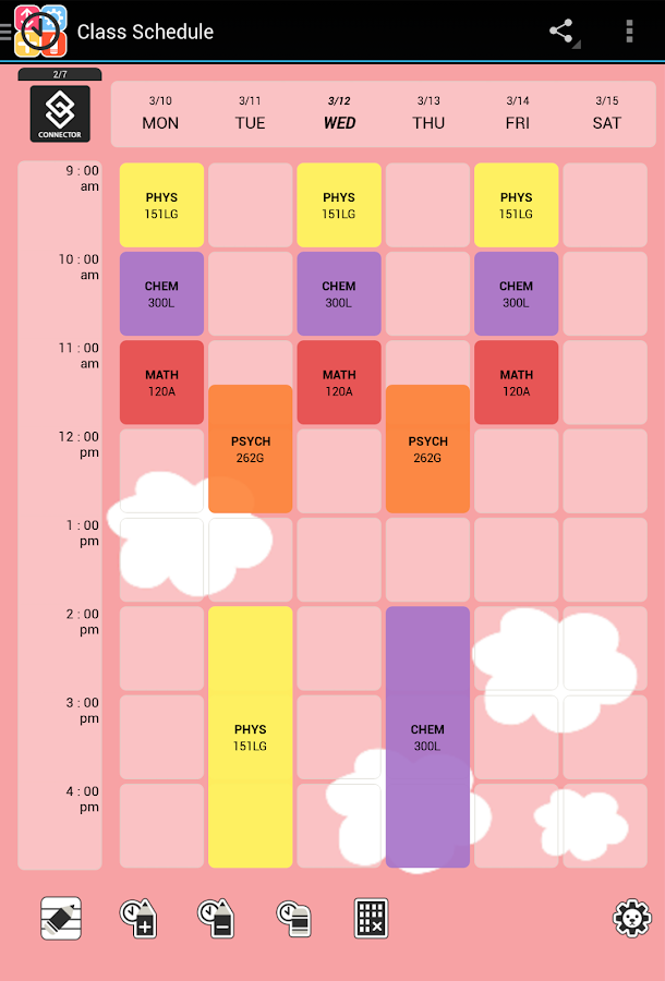 Timetable Kit Class Schedule Android Apps on Google Play – Class Schedule