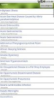 Screenshot of Microbiology LANGE Flash Cards