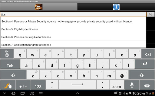 Private Security Regn - India