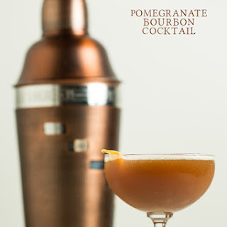 Pomegranate Bourbon Cocktail