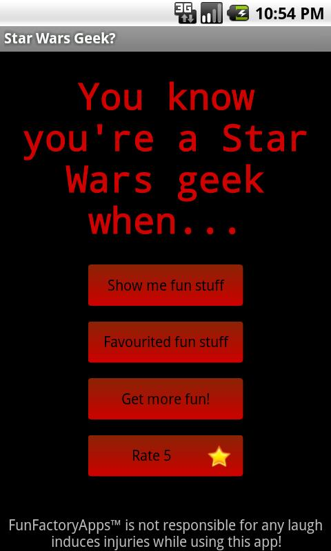 Star Wars Geek? - screenshot