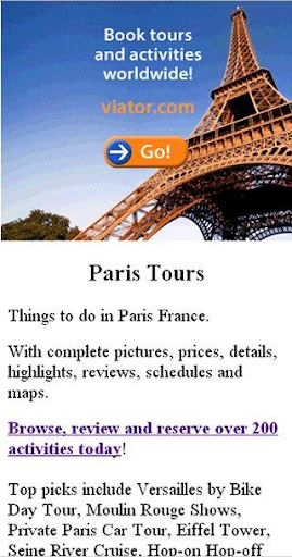 【免費旅遊App】Paris Tours-APP點子