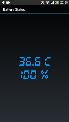 Battery Status - screenshot