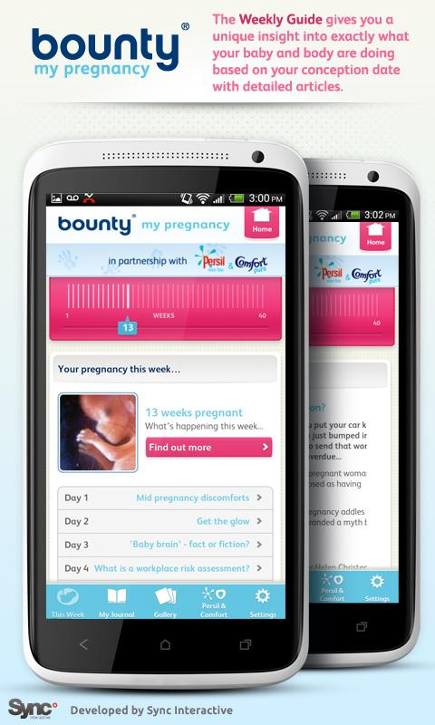 Pregnancy by Bounty - screenshot