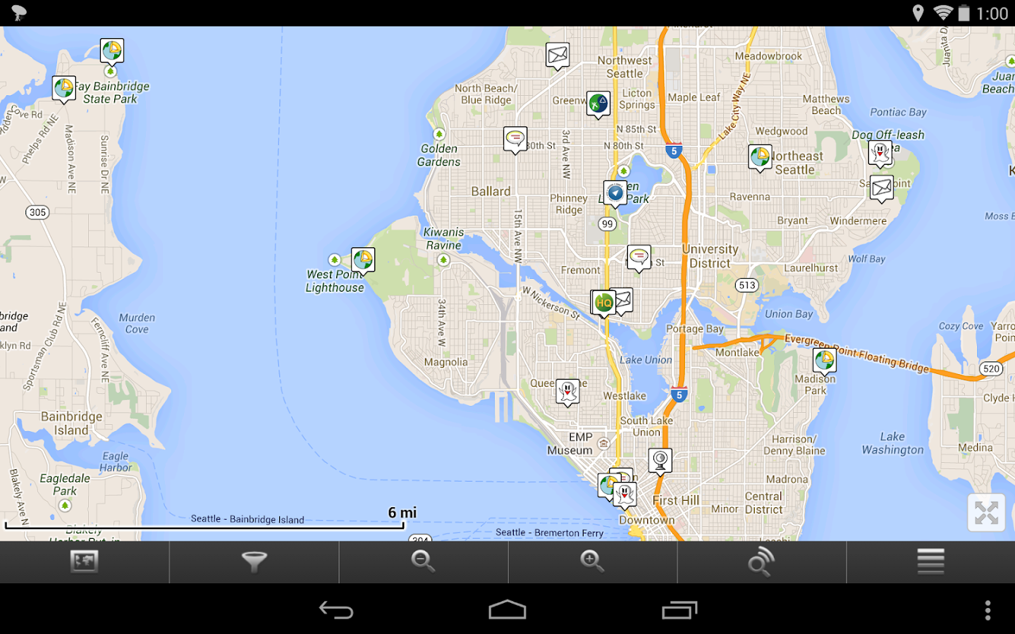 GCDroid - Geocaching- screenshot