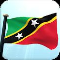 Saint Kitts y Nevis Bandera 3D icon