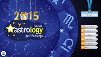 Screenshot of 2015 Astrology & Horoscope Lt