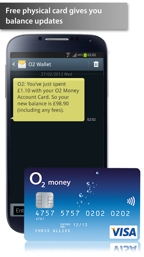 O2 Wallet - screenshot