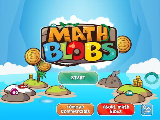 Math Blobs Times tables