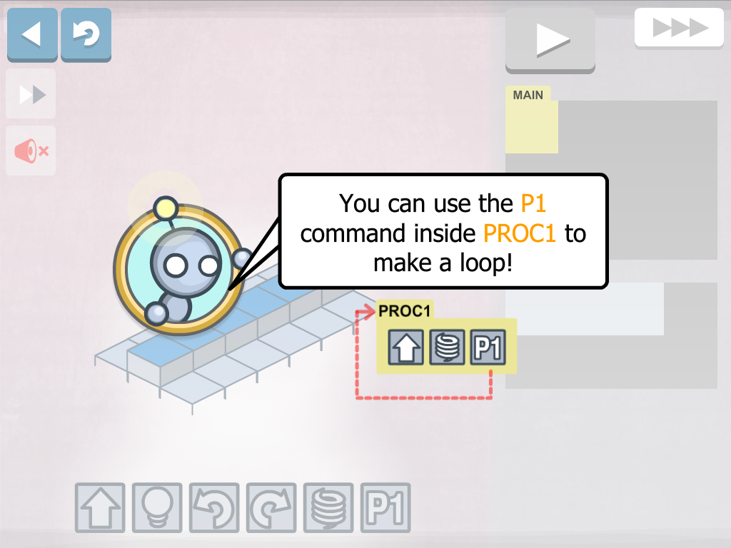 Lightbot : Programming Puzzles- screenshot