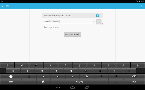 Vietnam Telex Keyboard - screenshot thumbnail