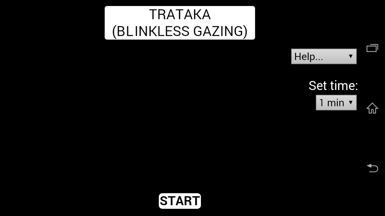 Trataka - Blinkless Gazing- screenshot