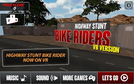 公路特技自行車騎手VR