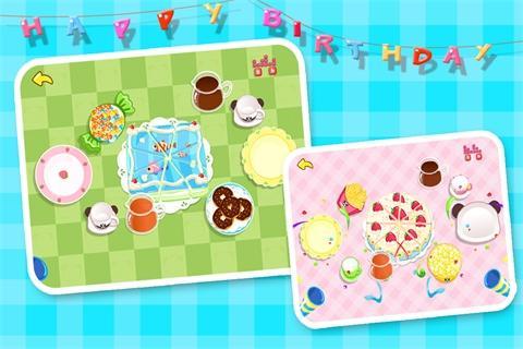 お誕生日パーティー-BabyBus子ども・幼児向けごっこ遊び