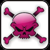 Skull & Bones pink doo-dad