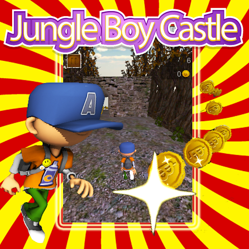 Jungle Boy Castle Run Rush 3D