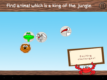 Get to know animals kids demo - screenshot thumbnail