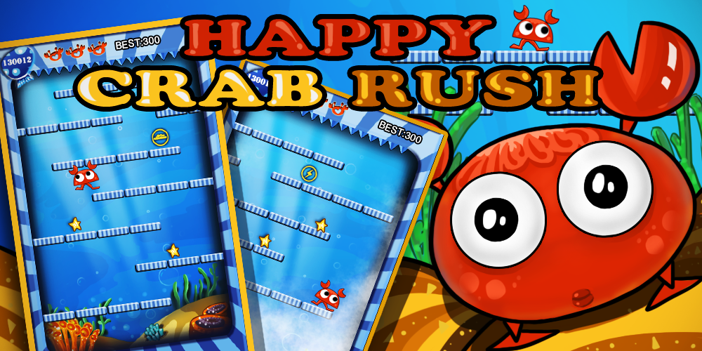 Happy Crab Rush - screenshot