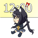 Chibi K-ON Clock Widget icon