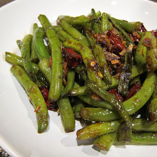 Dry Fried Chinese Green Beans
