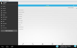 Screenshot of TwitPane for Twitter