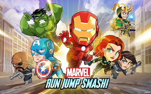 Marvel Run Jump Smash! - screenshot thumbnail