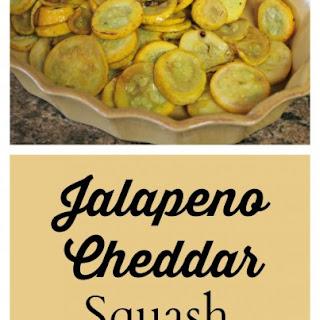 Jalapeno Cheddar Squash Casserole